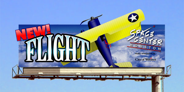 Outdoor Advertising Flight Billboard