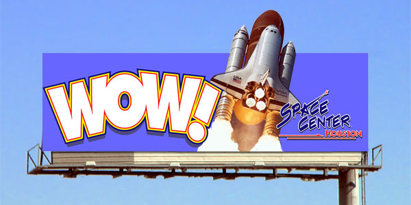 Outdoor Advertising Space Center Billboard